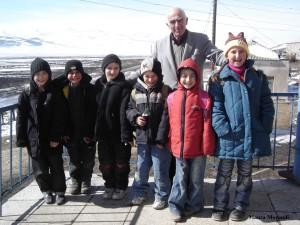 Armenian children in Darakov